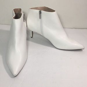 White booties size 9 1/2